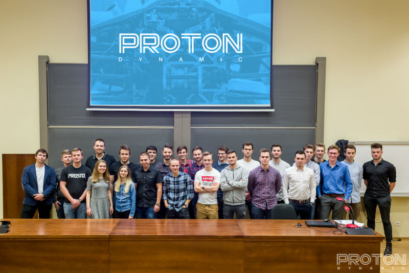 Students from Proton Dynamic