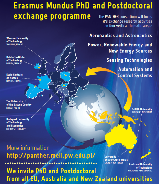 Admission for Erasmus Mundus – PANTHER is now open / News / Home