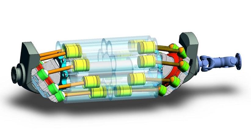 Innovative Engine For Hybrid Cars