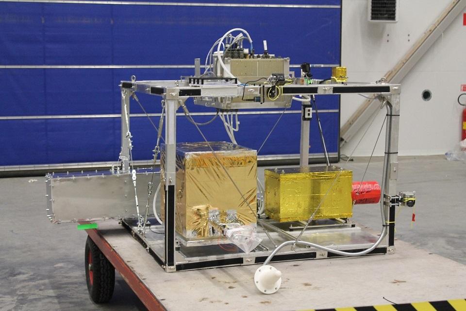 Zdjęcie projektu eksperymentu stratosferycznego do programu lotów balonowych BEXUS