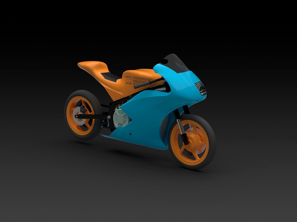 Wizualizacja motocykla PERUN